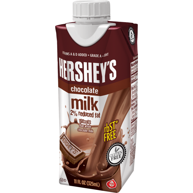 HERSHEY'S 2% Chocolate Milk - 11oz Prisma